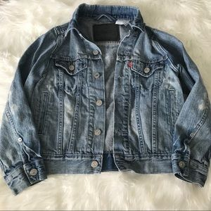 Levi's denim bleached jacket